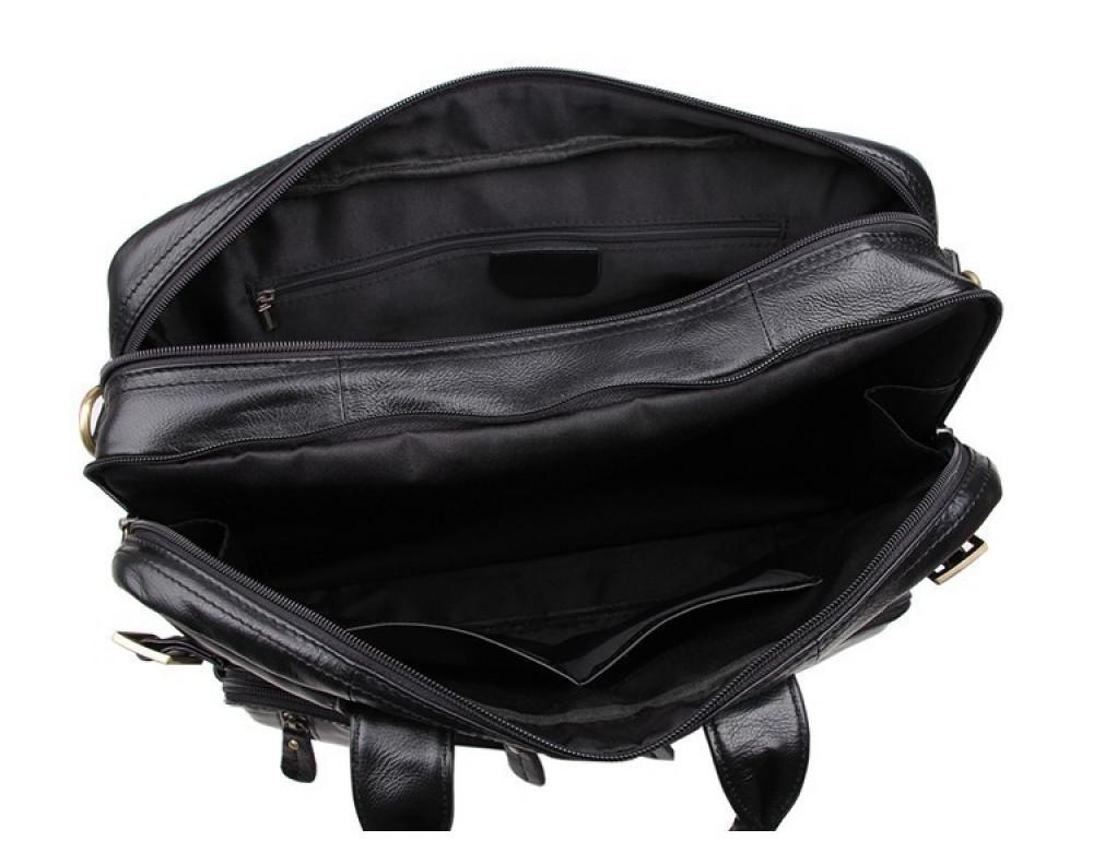 Кожаная сумка-рюкзак JASPER & MAINE 7026A - Фото № 8