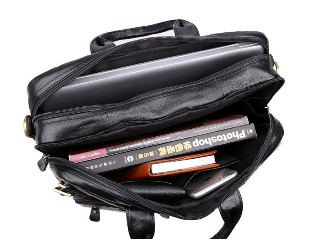 Кожаная сумка-рюкзак JASPER & MAINE 7026A - Фото № 9