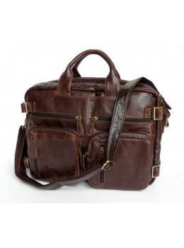 Кожаная сумка рюкзак JASPER&MAINE 7026R