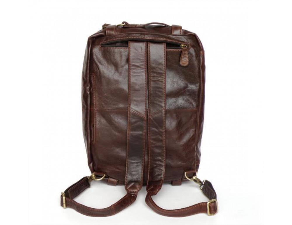 Кожаная сумка рюкзак JASPER&MAINE 7026R - Фото № 5