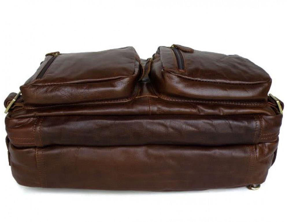 Кожаная сумка рюкзак JASPER&MAINE 7026R - Фото № 6