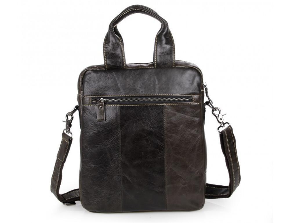 Мужская кожаная сумка-мессенджер TIDING BAG 7266J - Фото № 3