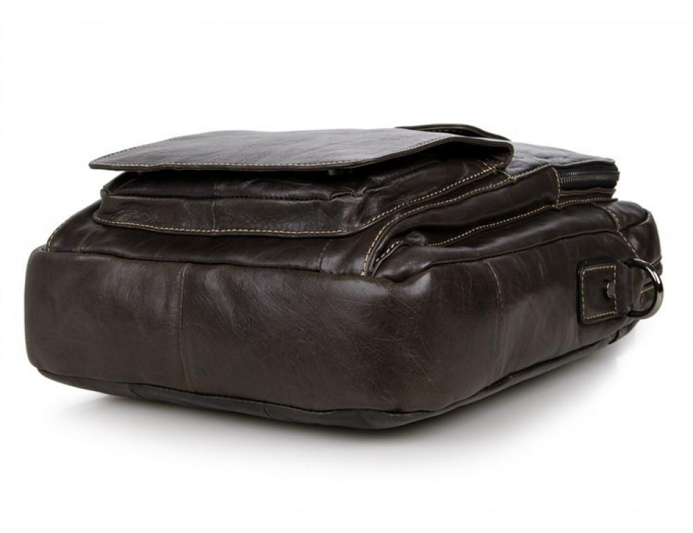 Мужская кожаная сумка-мессенджер TIDING BAG 7266J - Фото № 6