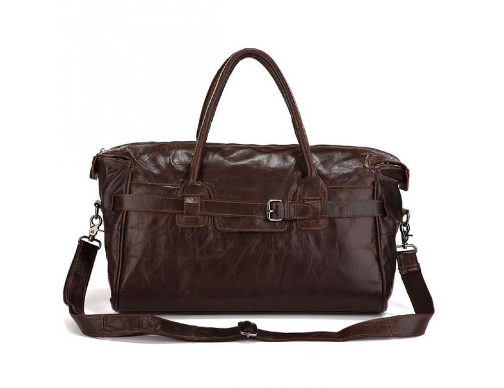 Кожаная дорожная сумка JASPER & MAINE 7079Q - Фото № 5