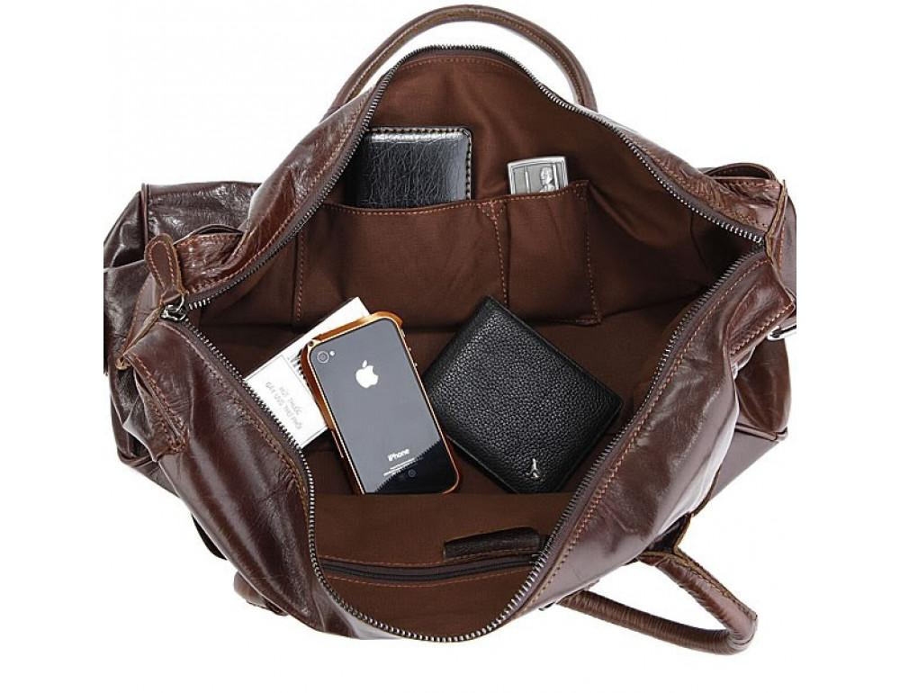 Кожаная дорожная сумка JASPER & MAINE 7079Q - Фото № 2