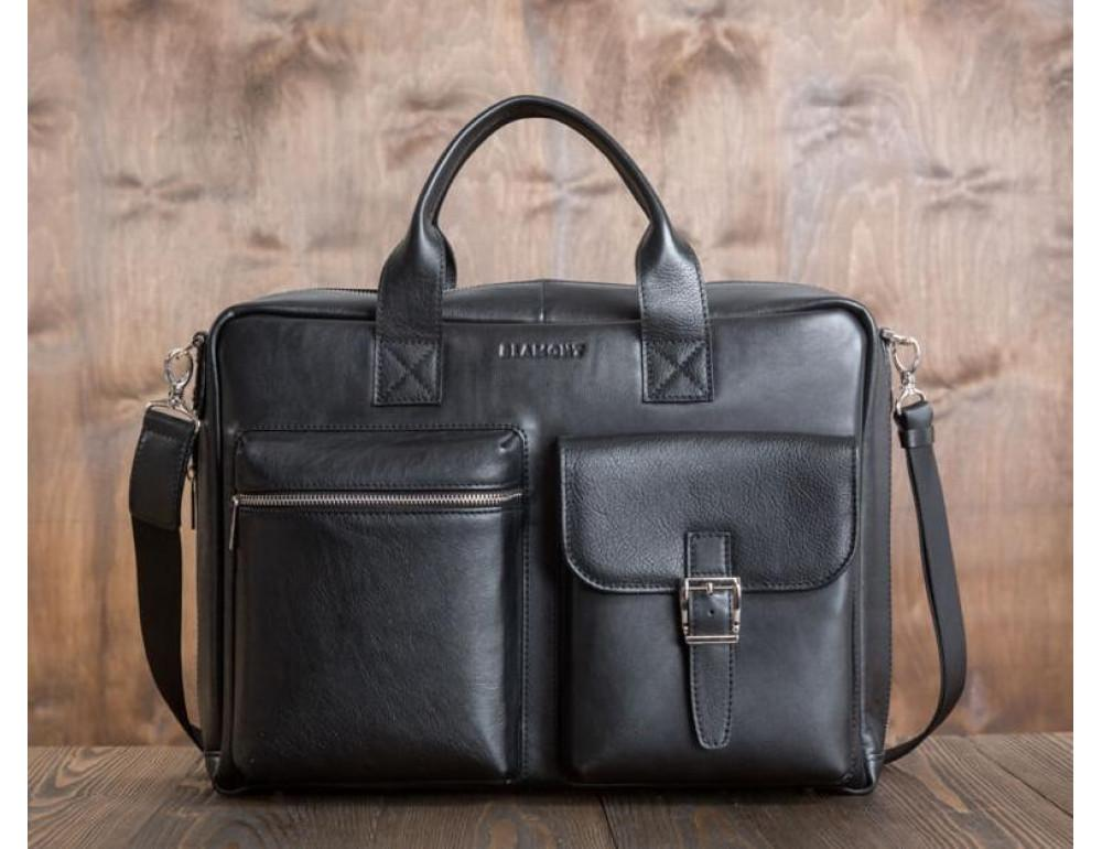 Чоловіча шкіряна сумка BLAMONT BN058A