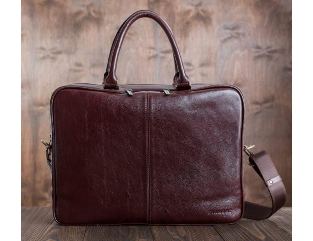 Чоловіча шкіряна сумка BLAMONT BN069R - Фотографія № 3