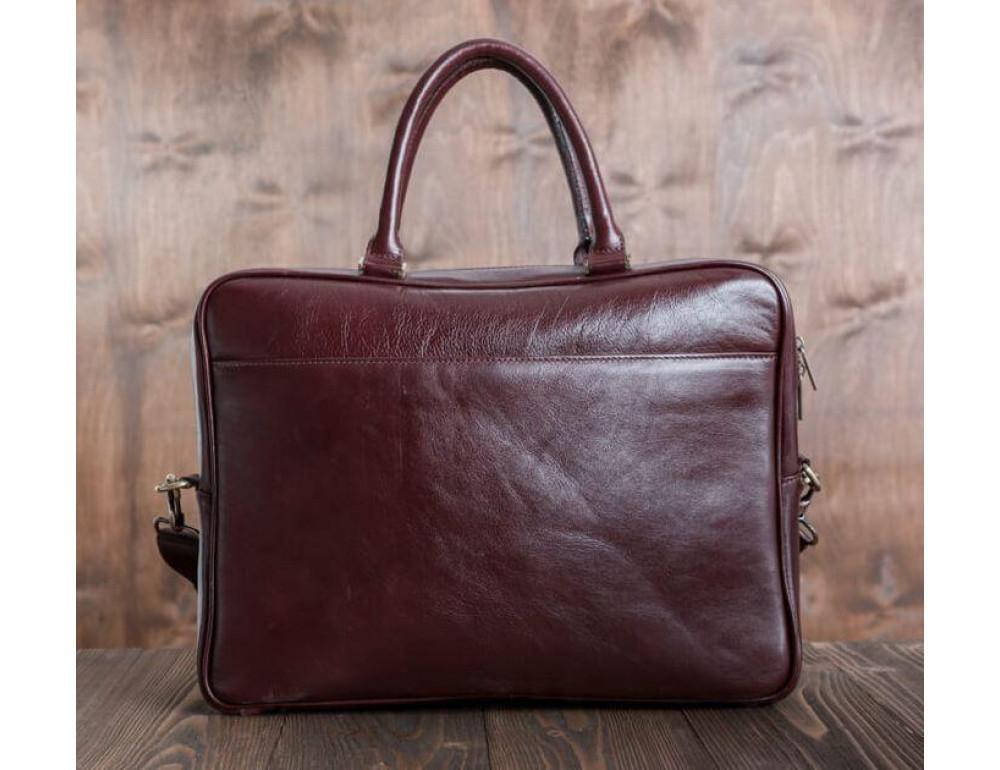 Чоловіча шкіряна сумка BLAMONT BN069R - Фотографія № 2
