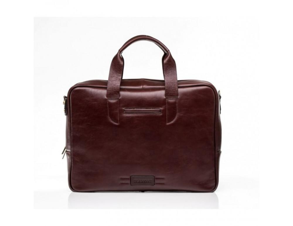 Чоловіча шкіряна сумка BLAMONT BN057R - Фотографія № 3