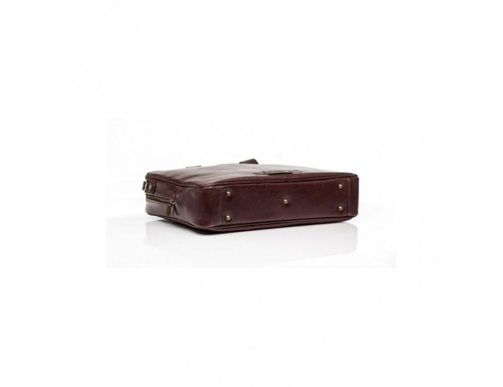 Чоловіча шкіряна сумка BLAMONT BN057R - Фотографія № 4