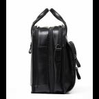 Кожаная сумка Tiding Bag B3-2020A чёрная - Фото № 102