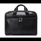 Кожаная сумка Tiding Bag B3-2020A чёрная - Фото № 103