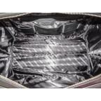 Мужская дорожная кожаная сумка Black Diamond BD31A чёрная - Фото № 107