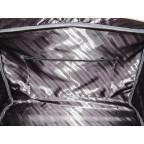 Мужская дорожная кожаная сумка Black Diamond BD31A чёрная - Фото № 109