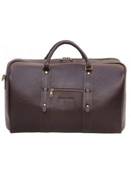 00d86299d2c4 Мужская дорожная кожаная сумка (Баул) Black Diamond BD31C коричневый