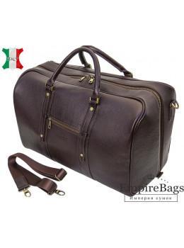 Мужская дорожная кожаная сумка (Баул) Black Diamond BD31C коричневый