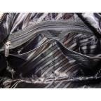 Мужская дорожная кожаная сумка Black Diamond BD32A чёрная - Фото № 106