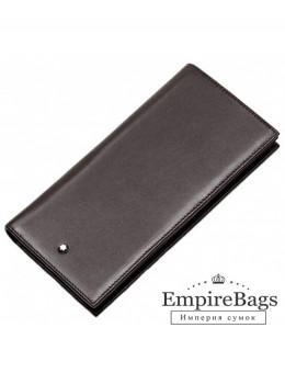 Кожаное портмоне Montblanc MOI-9403C темно-коричневый