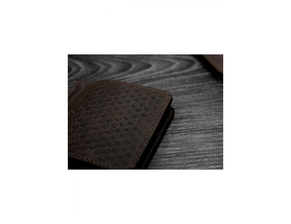 "Портмоне BN-PM-1-o-karbon зажим для денег ""Карбон"" коричневый - Фото № 6"