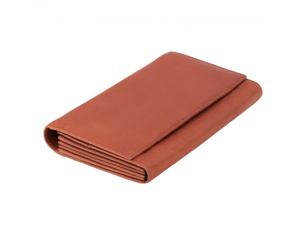 Кожаное дорожное портмоне коричневого цвета Visconti 1179 BRN Polo (Black)
