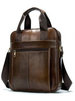 Коричнева ділова сумка Tiding Bag 14789C