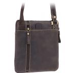 Тёмно-коричневая сумка через плечо Visconti 15056 Roy (Oil Brown) - Фото № 101