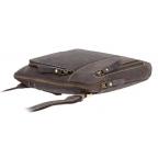 Тёмно-коричневая сумка через плечо Visconti 15056 Roy (Oil Brown) - Фото № 102