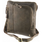 Тёмно-коричневая сумка через плечо Visconti 15056 Roy (Oil Brown) - Фото № 104