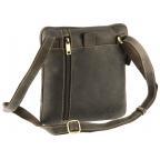 Тёмно-коричневая сумка через плечо Visconti 15056 Roy (Oil Brown) - Фото № 105
