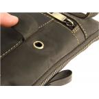 Тёмно-коричневая сумка через плечо Visconti 15056 Roy (Oil Brown) - Фото № 106
