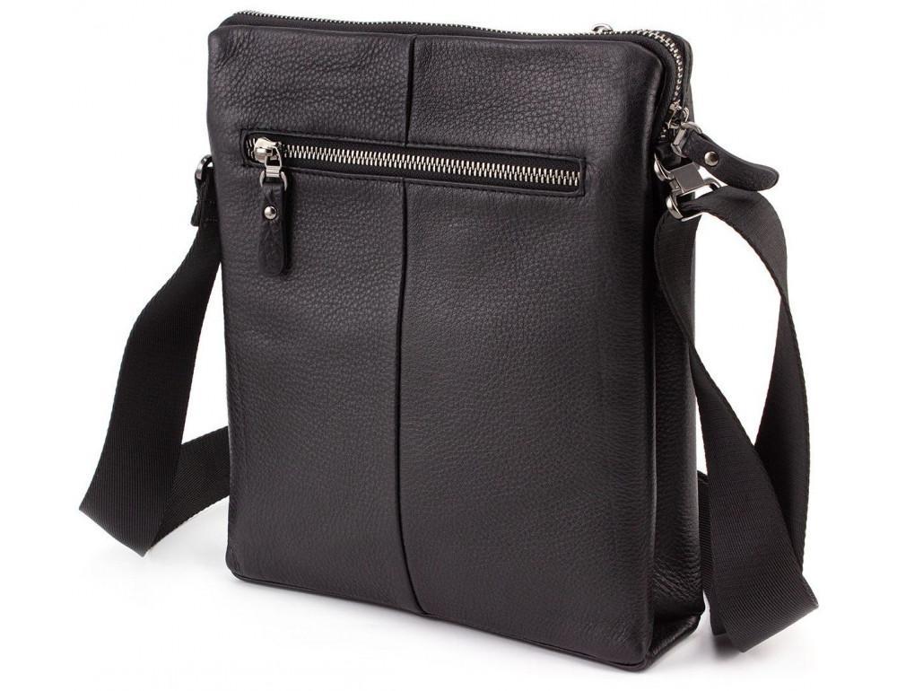 Чёрная мужская наплечная сумка Marco Coverna MC 1637-3 Black - Фото № 2