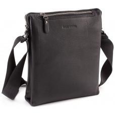 Чёрная мужская наплечная сумка Marco Coverna MC 1637-3 Black