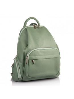 Оливковый женский рюкзак из кожи VIRGINIA CONTI (ИТАЛИЯ) - VC2238 OLIVE