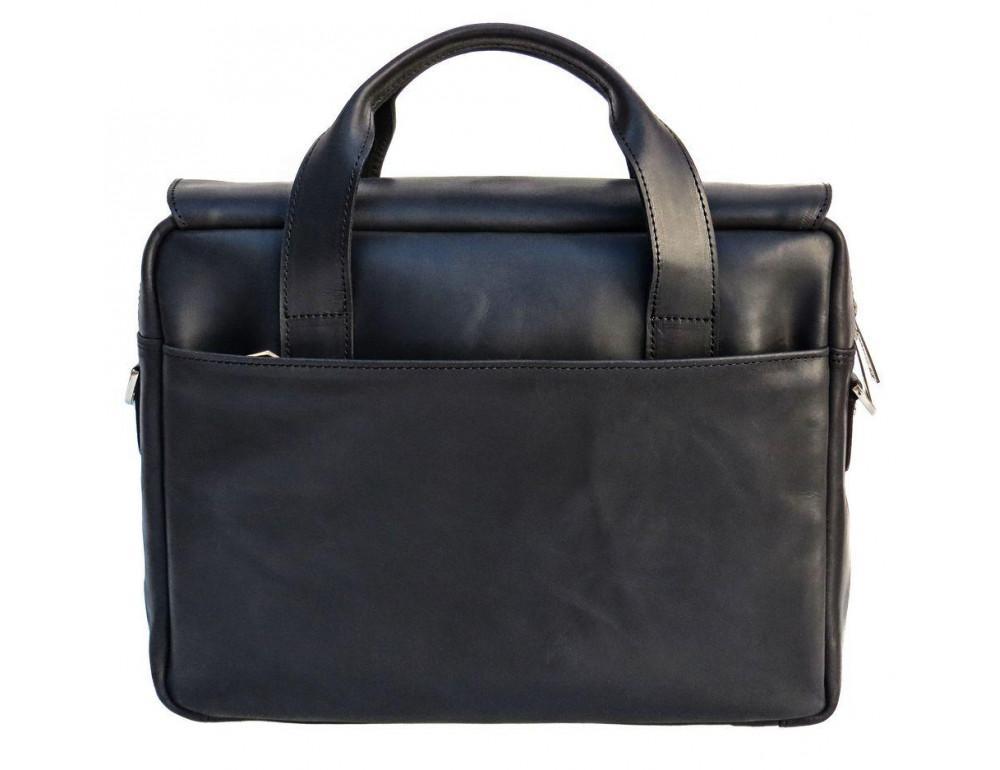 Чёрный кожаный портфель мужской TARWA RA-1812-4lx - Фото № 2