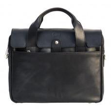 Чёрный кожаный портфель мужской TARWA RA-1812-4lx