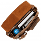 Коричневая сумка через плечо мужская Visconti 18410 OIL TAN Jasper - Фото № 101