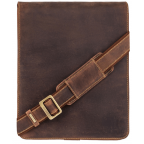 Коричневая сумка через плечо мужская Visconti 18410 OIL TAN Jasper - Фото № 100