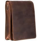 Коричневая сумка через плечо мужская Visconti 18410 OIL TAN Jasper - Фото № 102