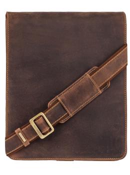 Коричнева сумка через плече чоловіча Visconti 18410 OIL TAN Jasper