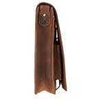 Коричневая сумка через плечо мужская Visconti 18410 OIL TAN Jasper - Фото № 103