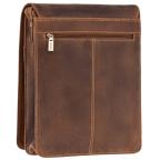 Коричневая сумка через плечо мужская Visconti 18410 OIL TAN Jasper - Фото № 104