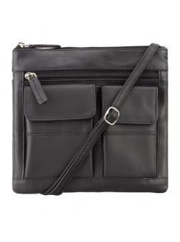 Женская кожаная сумка Visconti 18608 BLK