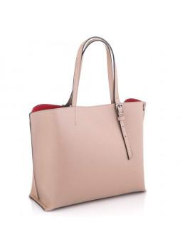 Розовая женская сумка шоппер VIRGINIA CONTI (Итальянская) - VC02811 lpowder
