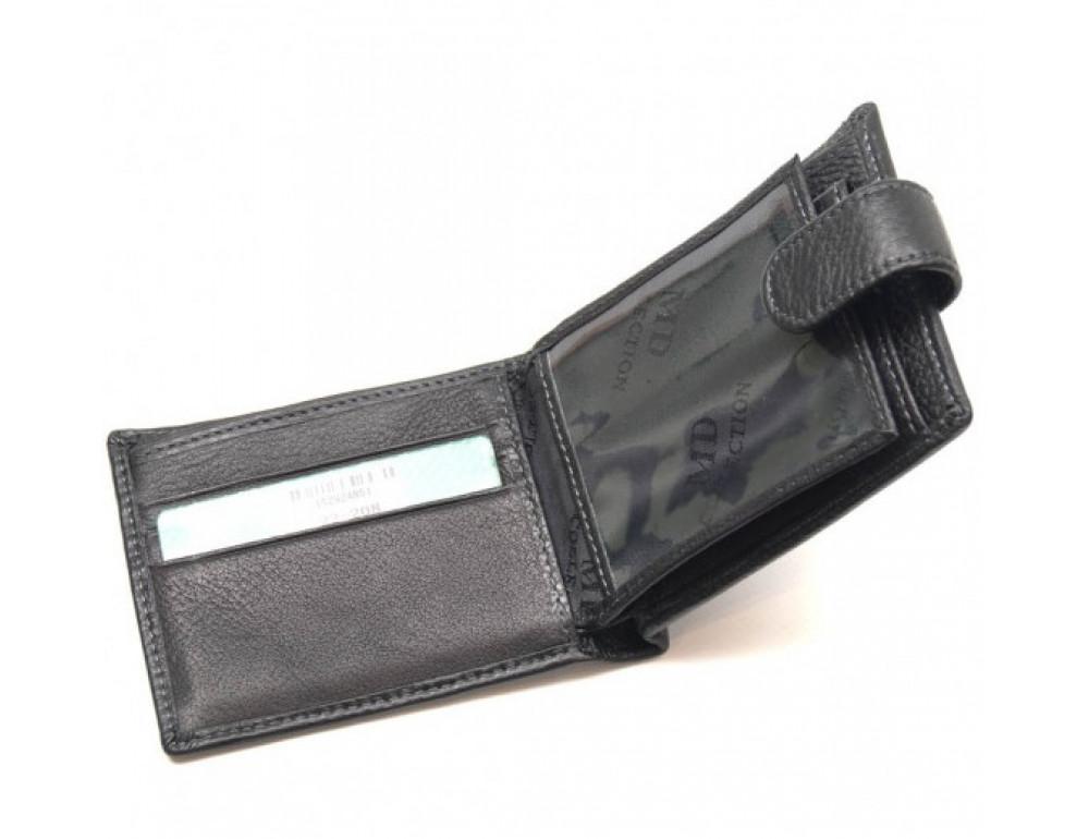 Чоловічий шкіряний гаманець Horton Collection MD 22-208 - Фотографія № 4