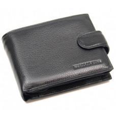 Чёрный кожаный портмоне Marco Coverna 3033-1