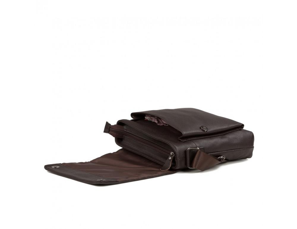 Мужская кожаная сумка-мессенджер TIDING BAG A25-1278C - Фото № 4