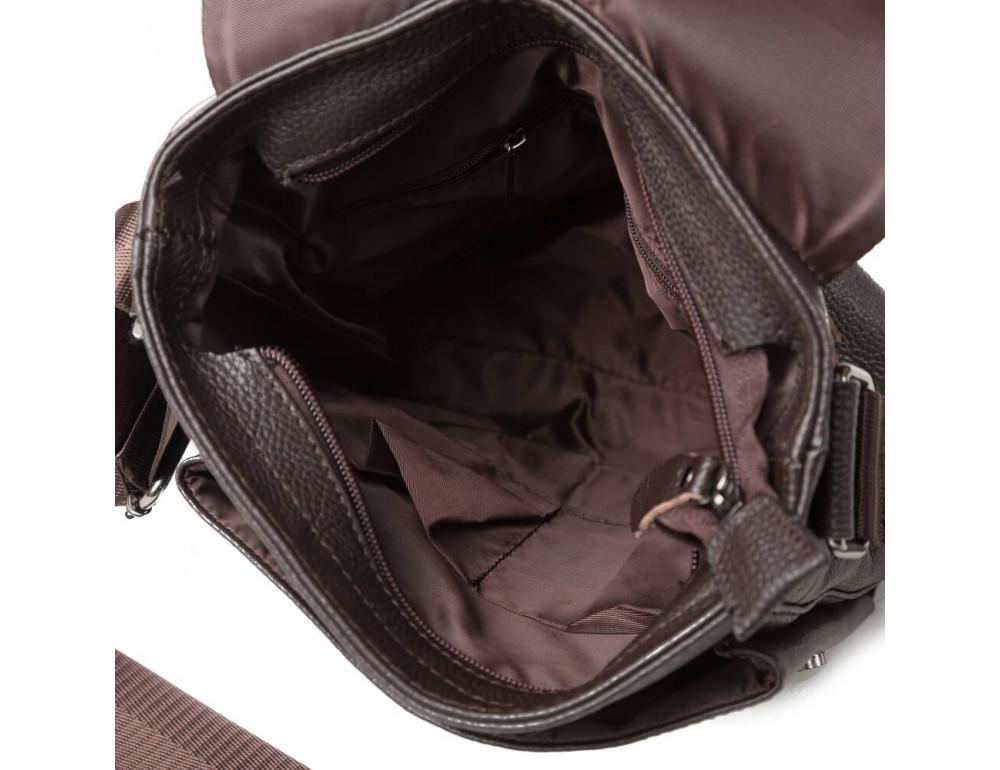Мужская кожаная сумка-мессенджер TIDING BAG A25-1278C - Фото № 5