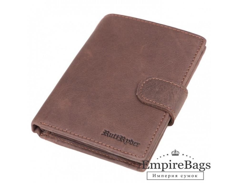 Мужской кожаный портмоне Ruff Ryder (USA) RR-38276WS коричневый