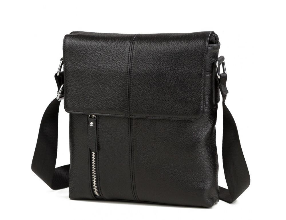 Чоловіча шкіряна сумка-месенджер TIDING BAG A25-238A