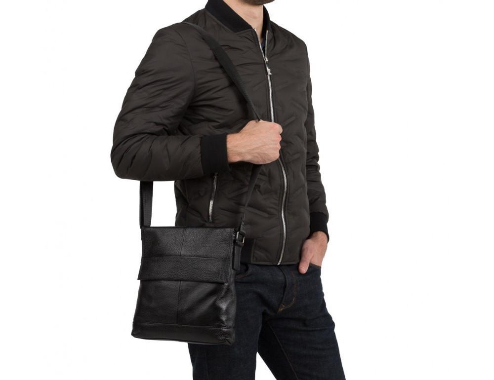 Мужская кожаная сумка-мессенджер TIDING BAG M38-8136A - Фото № 2